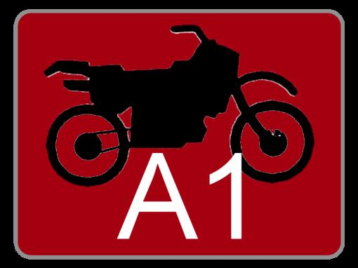 Klasse A1 – Leichtkrafträder
