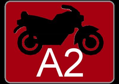 Klasse A2 – Krafträder bis 35 kW