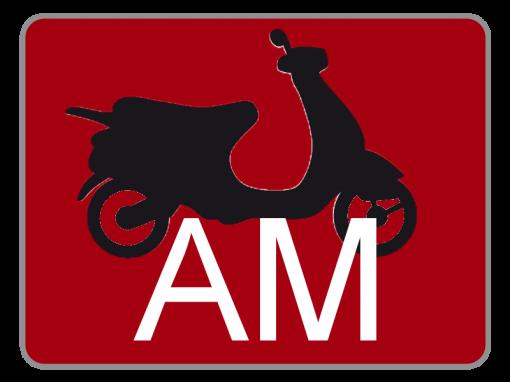 Klasse AM – Kleinkrafträder und Leichtkraftfahrzeuge