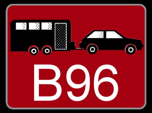 Klasse B mit Schlüsselzahl 96
