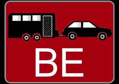Klasse BE – PKW mit Anhänger
